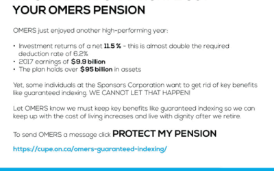 Important Information About Your OMERS Pension