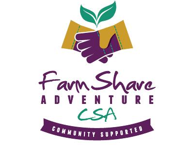 Urban Farming Institute's FarmShare Adventure CSA logo