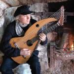 John Doan on aran isle with harp guitar