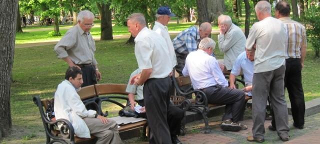 Lviv Old Men Park