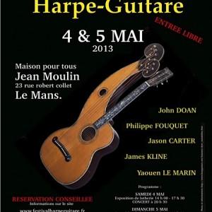 11.Harp Guitar Festival Poster 2013