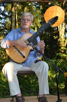 James Schaller Harp Guitar Performance