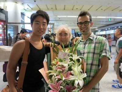 1. John Doan Welcomed at Xian Airport