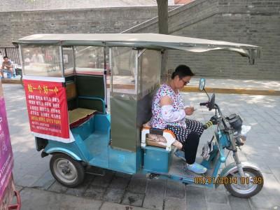 10. Xian local cab