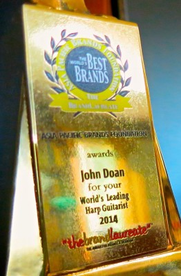 John Doan Brand Laureate Award Close Up