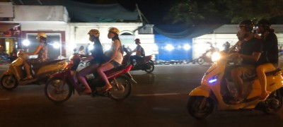 4. Arrive to Motorcycles in the Streets