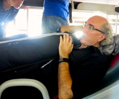 John Doan harp guitar on Bus Vietnam