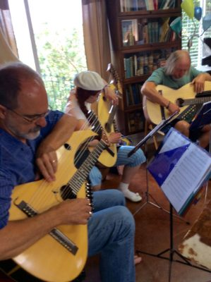 4. Harp Guitar Retreat Class Exercise
