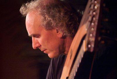 John Doan with Harp Guitar