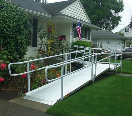 EZ-Access-Aluminum Rampe