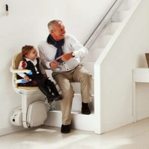 Handicare Sterling Stair Lift Using A Stair Lift is Easy
