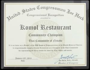 2013 Awards - Congressional Award