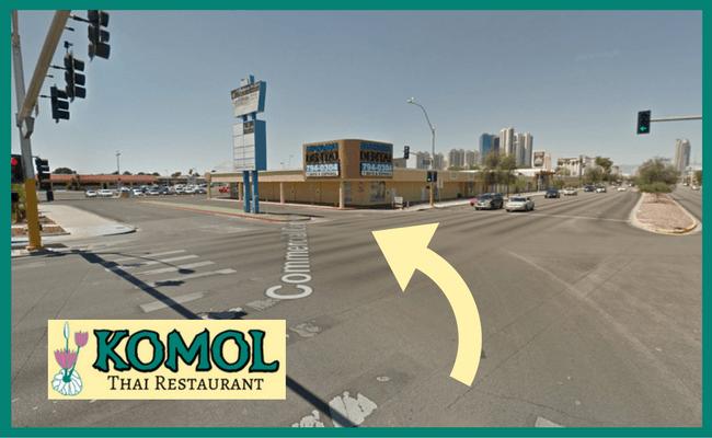 Finding Komol - Heading West on Sahara Avenue 650x400