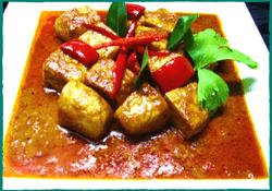 Komol Thai Restaurant - Vegetarian Panang Curry