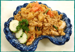 Komol Thai Restaurant - Vegetarian Pineapple Fried Rice