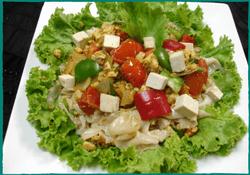 Komol Thai Restaurant - Vegetarian Spicy Ground Noodle