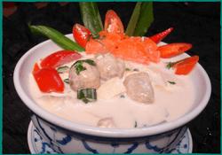 Komol Thai Restaurant - Vegetarian Tom-Kha