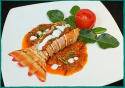 Komol Thai Restaurant - Lobster Panang