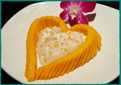 Komol Thai Restaurant - Mango with Sweet Sticky Rice 5