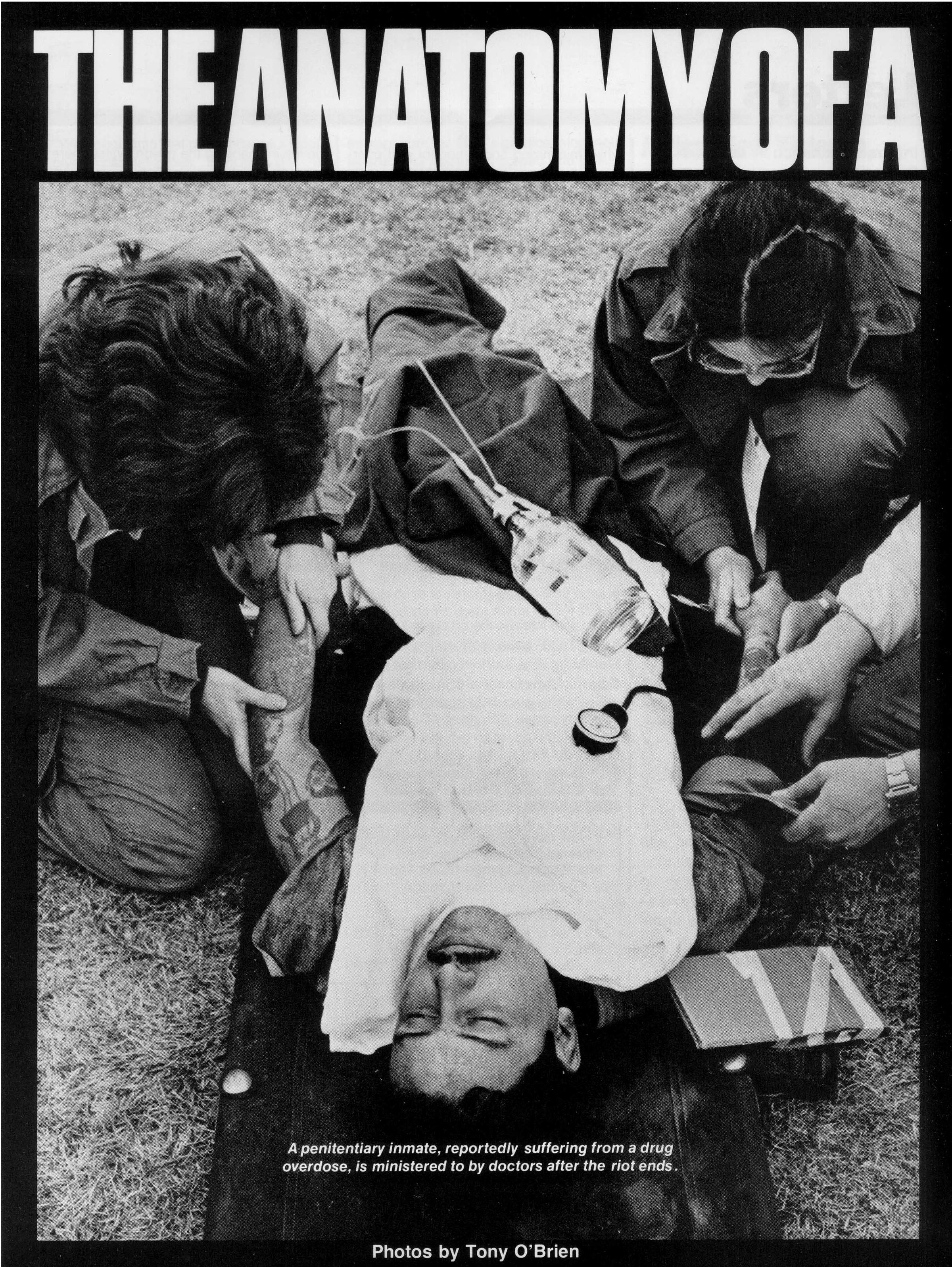 The Anatomy Of A Riot – Corrections Magazine (1980)