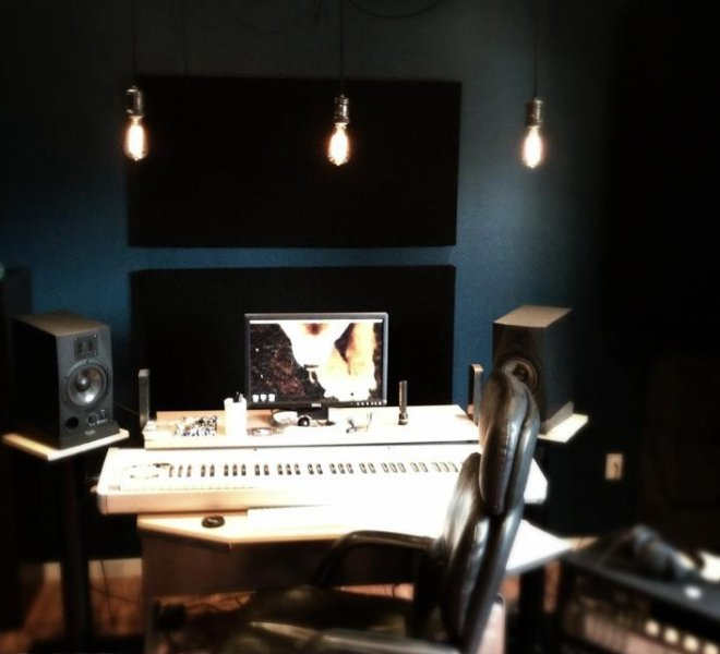 December 25, 2012. First Day of Supey Studio