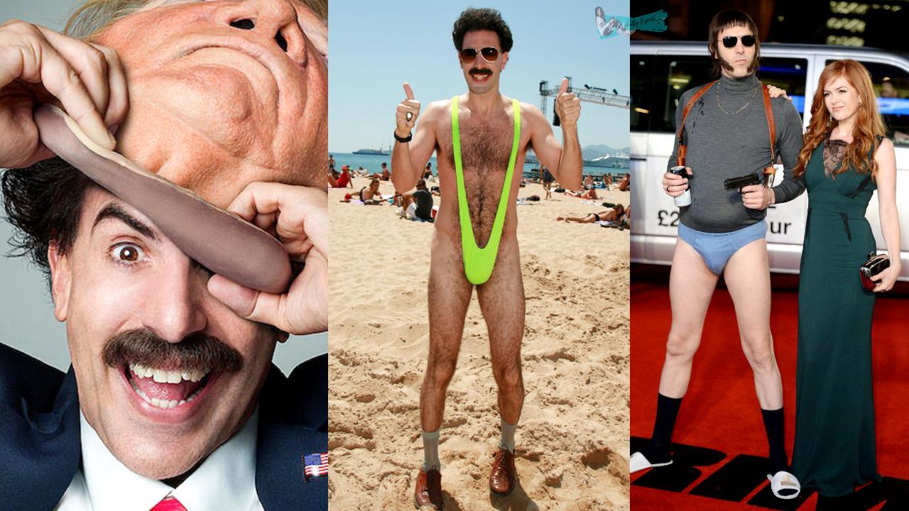 Sacha Baron Cohen Funny Moments