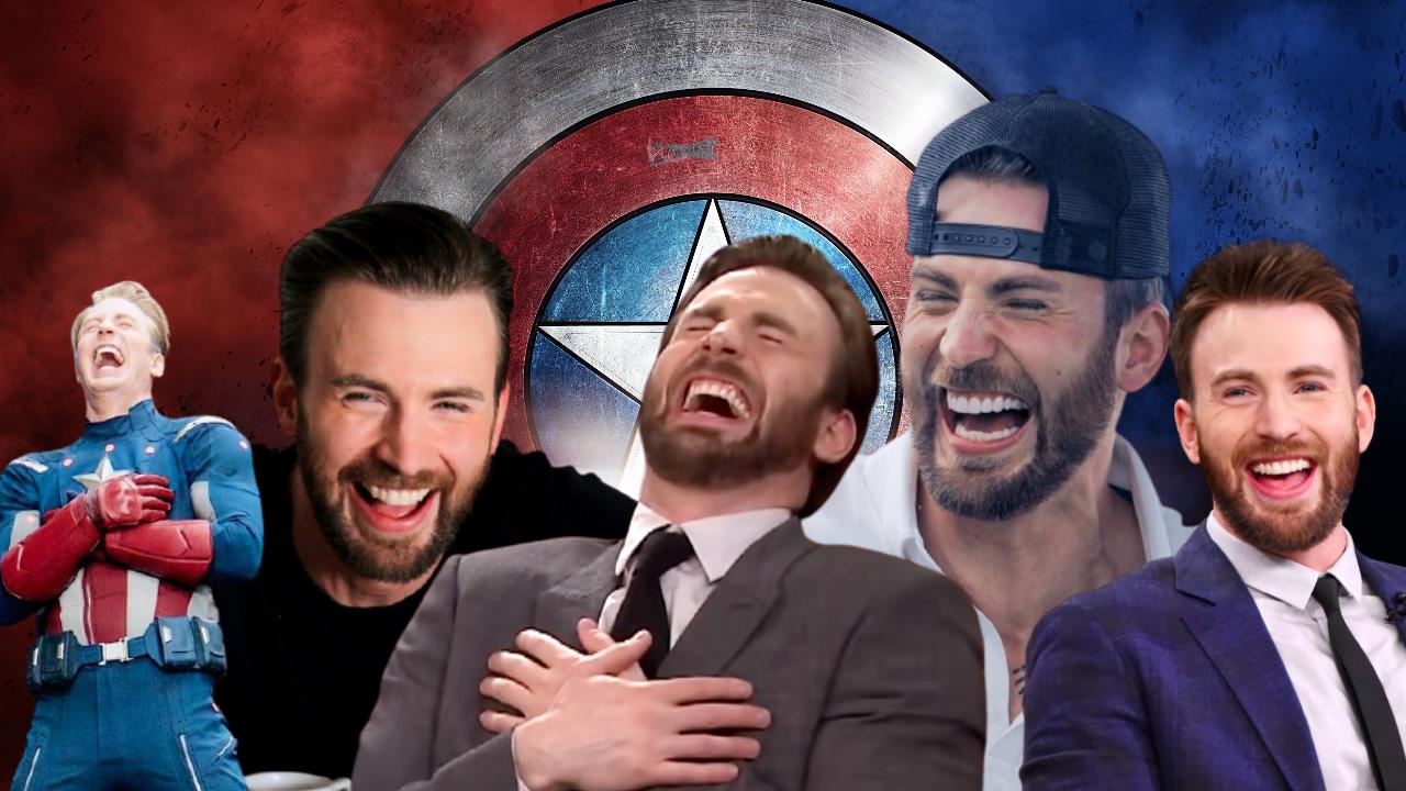 Chris Evans Laugh