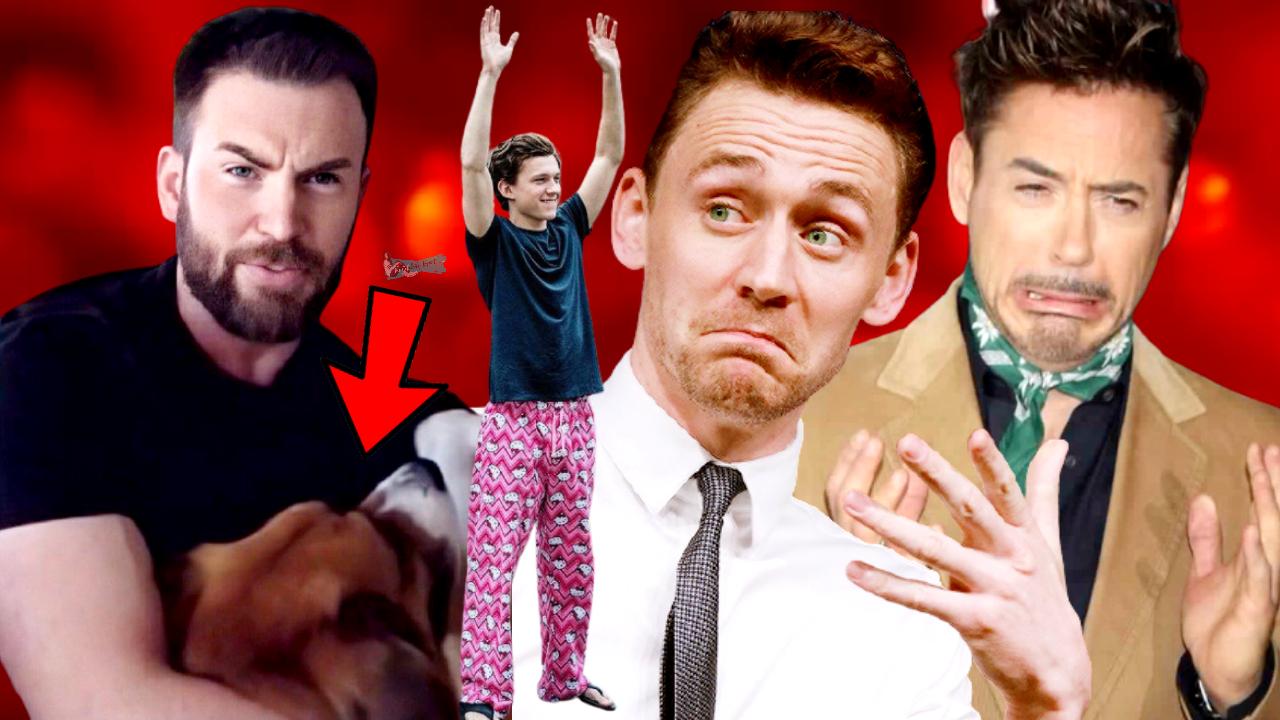 Marvel Cast Being Crackheads