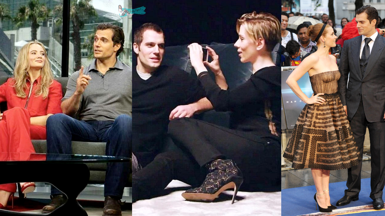 Henry Cavill Being Thirsted By Female Celebrities