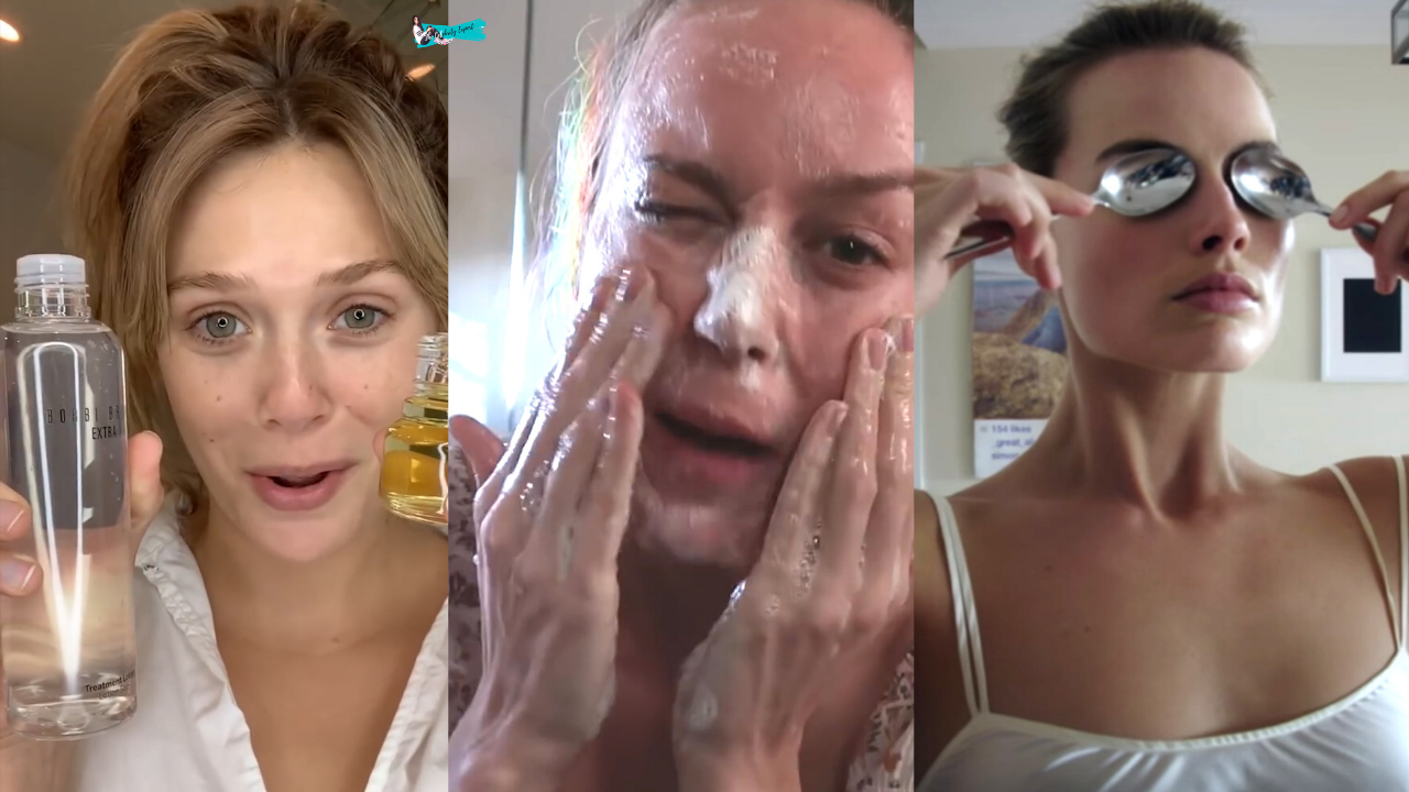Marvel Actresses Skin Care