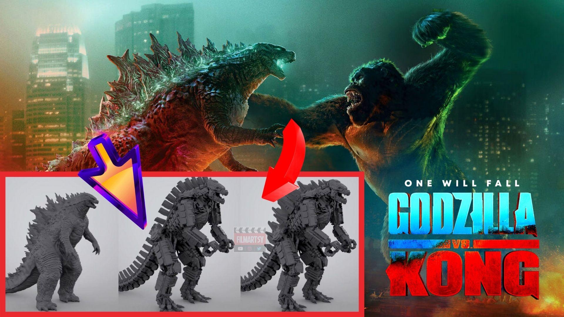 Godzilla vs kong bts