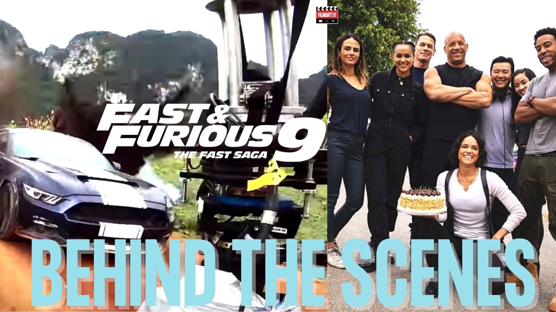 Fast and furious 9 bloopers