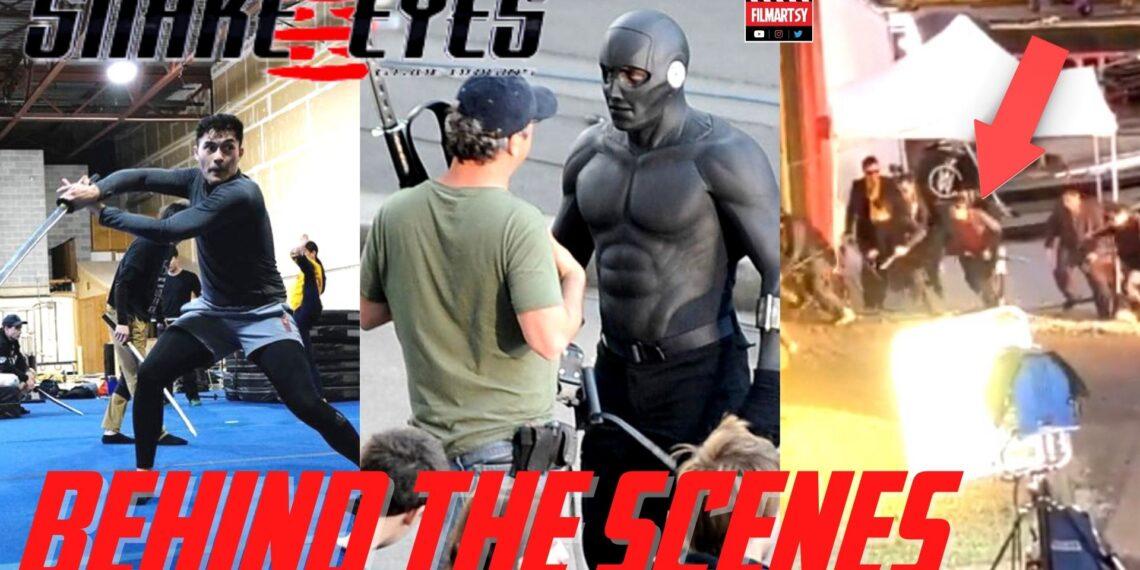 Snake Eyes Behind The Scenes