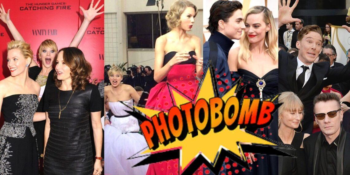 Celebrities Photobombing Other Celebrities