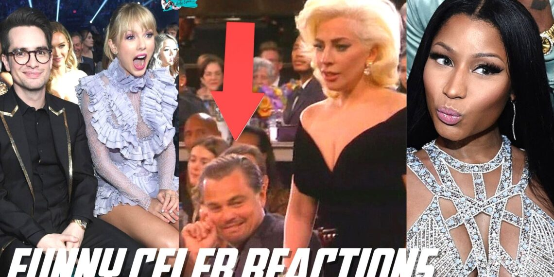 celebrity funny reactions