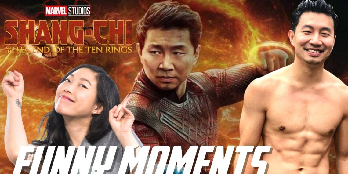 Shang chi cast funny moments