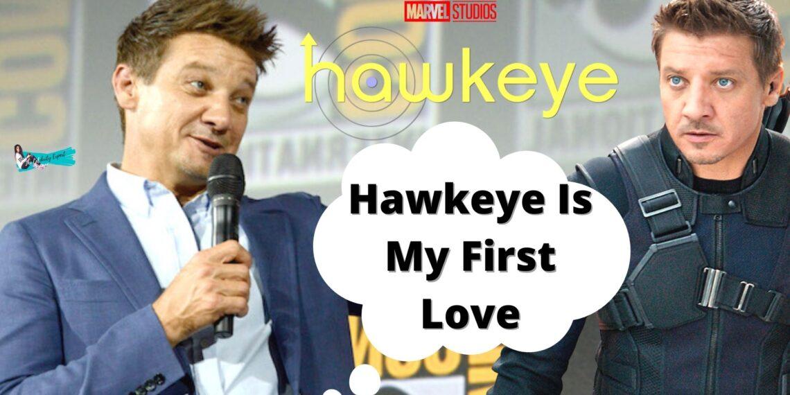 Jeremy Renner Talking About Hawkeye
