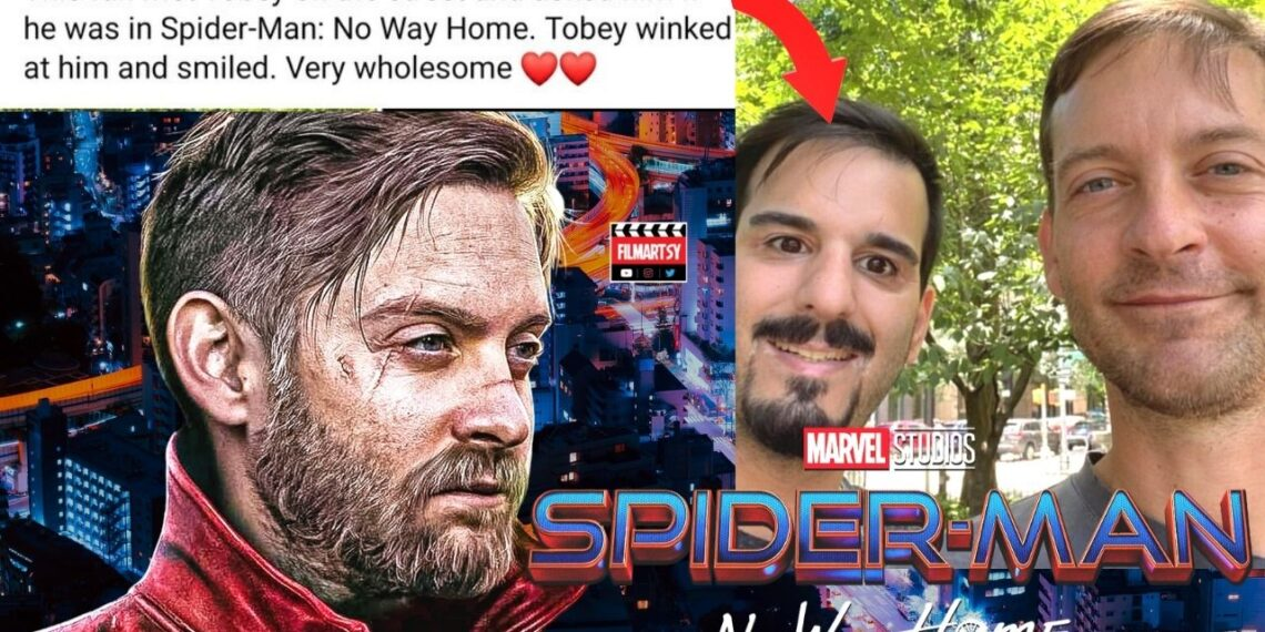 Tobey Maguire in Spiderman no way home
