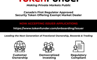 TokenFunder – Making Private Markets Public.