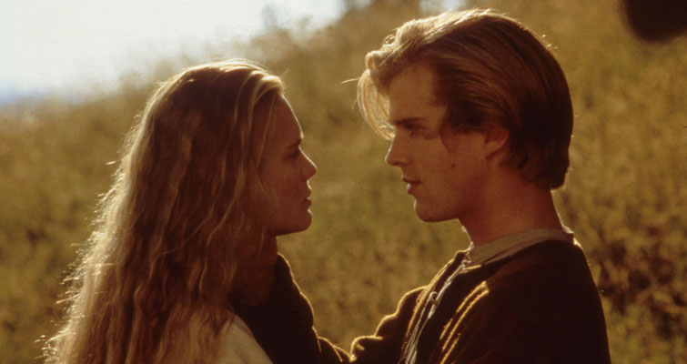 Westley and Buttercup from Princess Bride