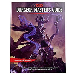 Dungeons and Dragons Dungeon Master's Guide - a lich stands atop a mountain