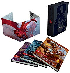 D&D Core Rule Books for Dungeons and Dragons