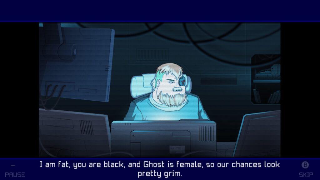 Screenshot of Ghost