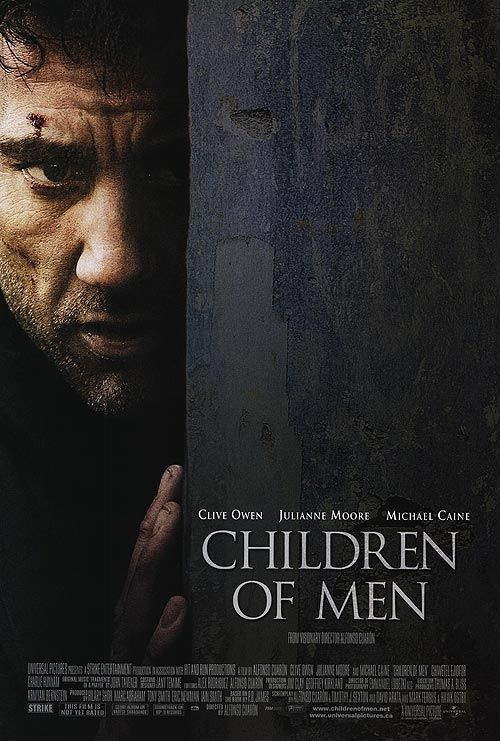 Children of Men promo pic with Clive Owen