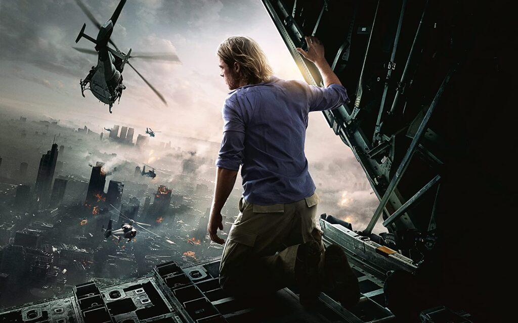 World War Z promo pic with Brad Pitt