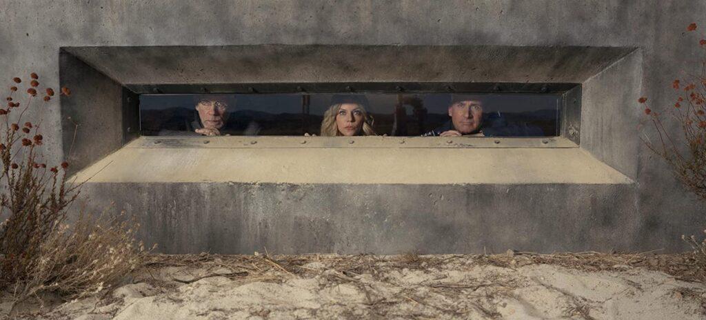 Kaitlin Olson John Malkovich Steve Carell in Netflix's Space Force