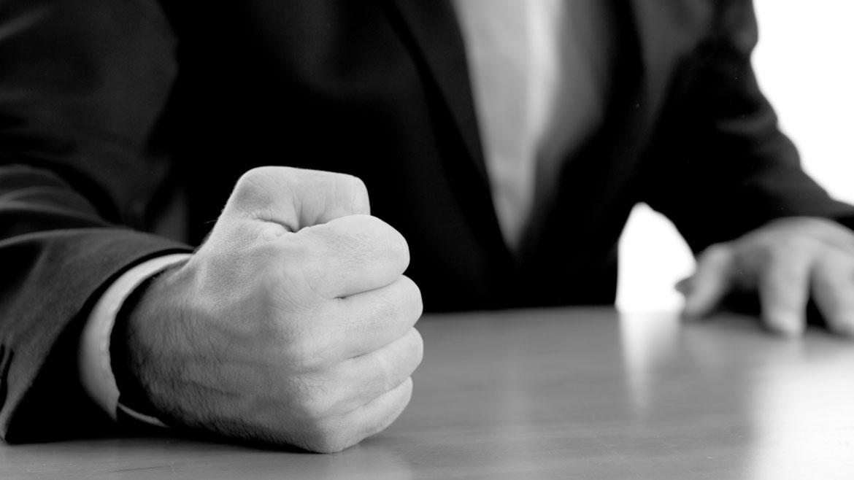 Pounding the table won't enhance shareholder value