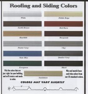 large color chart