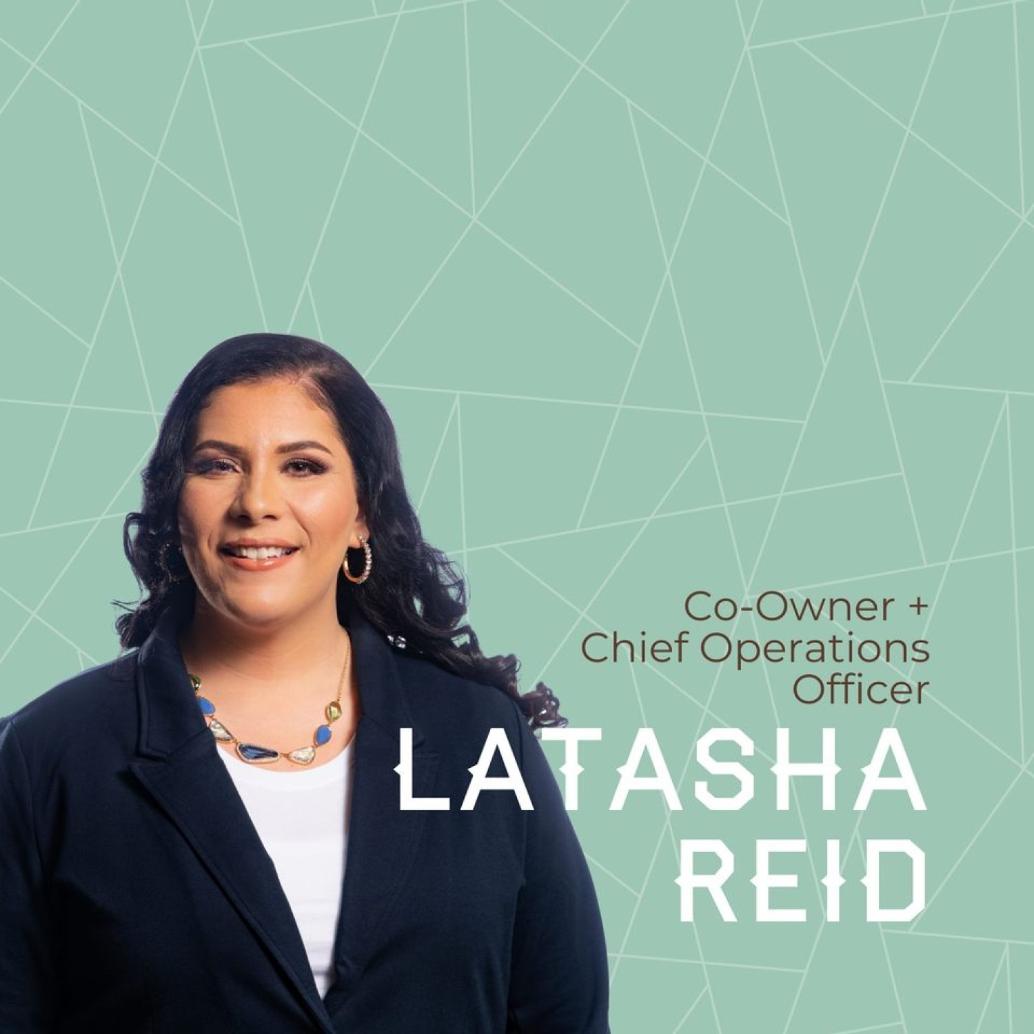 Latasha Reid, COO & Co-Owner of Bespoke Ventures and Investments, LLC DBA Bespoke Campgrounds