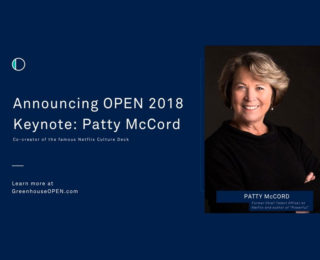 Patty McCord, Netflix's Former Chief Talent Officer, Will Keynote Greenhouse OPEN 2018 HR Leadership Conference